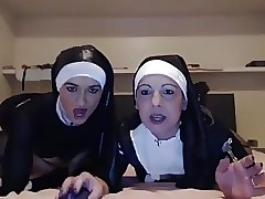 Nun new porn - young old lesbian seduction
